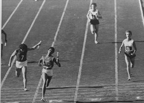 Wilma Rudolph, Rome Olympics, 1960