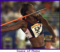 Jackie Joyner-Kersee, heptathlon champion