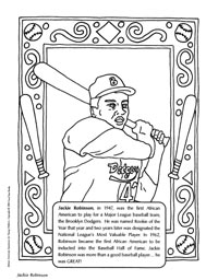 black history coloring pages for kid | Black History Month Slideshow - FamilyEducation.com