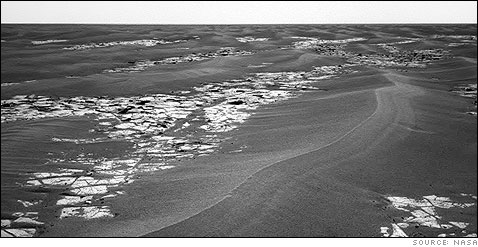 Martian Landscape - En route from Erebus crater to Victoria crater.