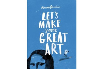 best teen birthday gifts, Lets Make Some Great Art book