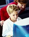 Boy & computer