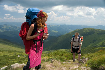 Backpackers,Hiking