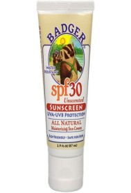 Badger All Natural Sunscreen