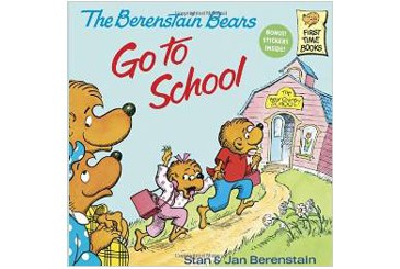 Berenstain Bears Go to School, BTS book