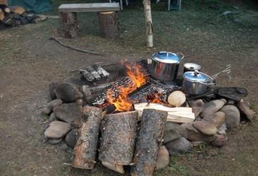 Campfirewithpotsandpans