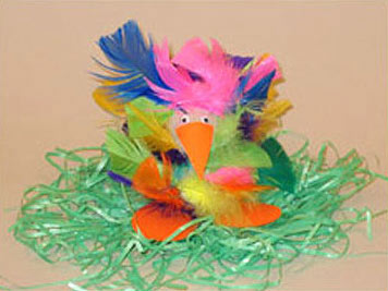 EasterCraft,CartonBird