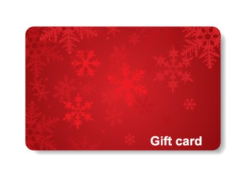 Christmas gifts for anyone, generic holiday gift card for restaurant or store