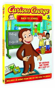 Best Movies About School, Curious George Back to School DVD