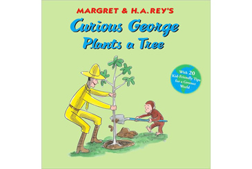 Earth Day books, Curious George Plants a Tree