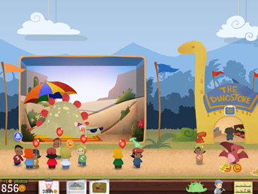 educational app for kids, Dinorama