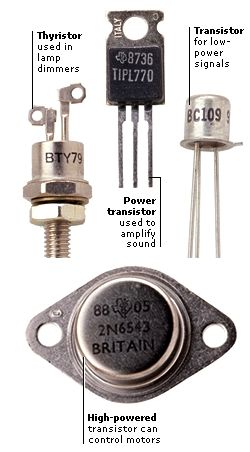 TRANSISTORS FOR DIFFERENT JOBS
