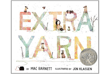 Extra Yarn, 2013 childrens book