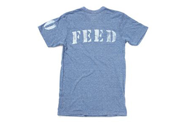 gifts that give back, FEED Projects t shirt
