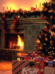 FireplaceandChristmastree