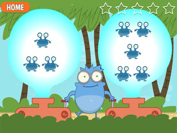 Funbrain Jr. free app for preschoolers