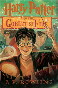 Image result for harry potter and the goblet of fire book cover
