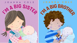 Books for Big Sister or Brother, I'm a Big Sister and I'm a Big Brother by Cole