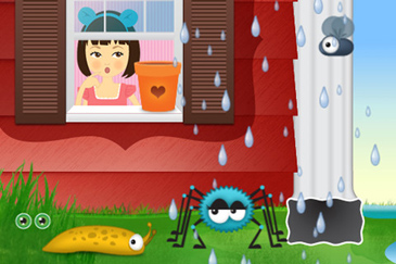 educational app for kids, Itsy Bitsy Spider