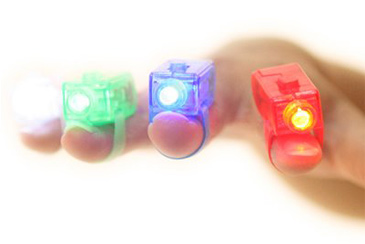 LED Finger Flashlights