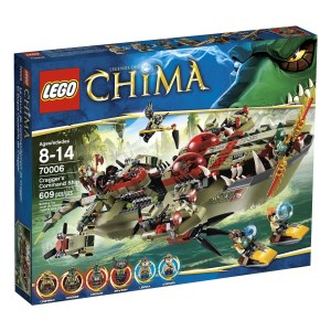Lego Chimma Cragger Command Ship
