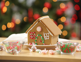 gingerbread house Christmas craft
