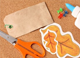 Thanksgiving craft supplies
