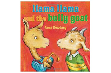 Llama and Bully Goat, children's book
