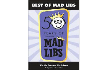 Summer Reading for Kids, Mad Libs book cover