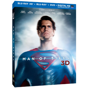 Man of Steel Bluray DVD