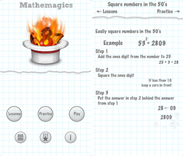 educational app for kids, Mathemagics