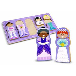 Melissa and Doug Chunky Puzzle Dress Up