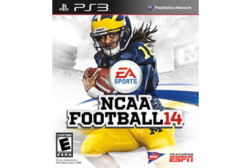 NCAA Football 14 PS3 game