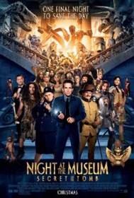 Night at the Museum, Secret Tomb, 2014 movie
