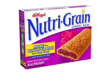 Healthy nut free school snack, Nutrigrain breakfast bars