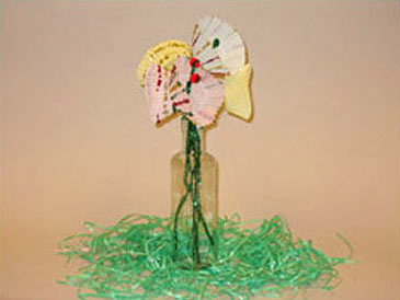 EasterCraft,PaperFlower
