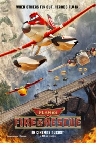 Planes Fire and Rescue Movie Poster