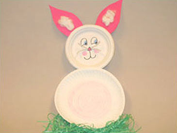 Paper Plate Easter Bunny & Paper Plate Easter Bunny - FamilyEducation