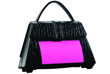 Post It purse dispenser
