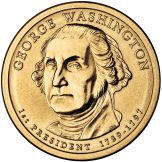 George Washington $1 coin