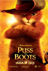 Oscar nominated kids movies, Puss in Boots