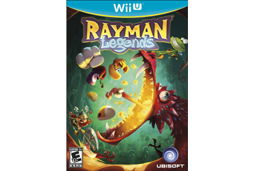 Rayman Legends Wii U game