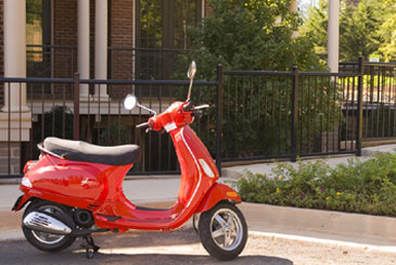 RedMotorScooter