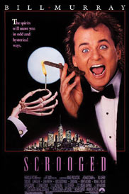 Christmas,Movie,DVD,Scrooged