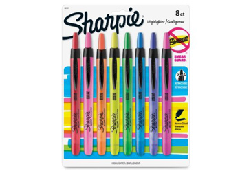 Sharpie Retractable Highlighters
