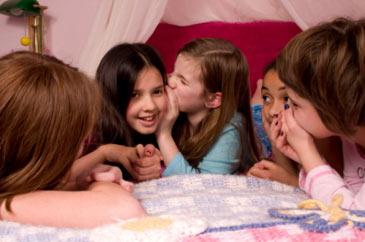 Girl Sleepover Slumber Party