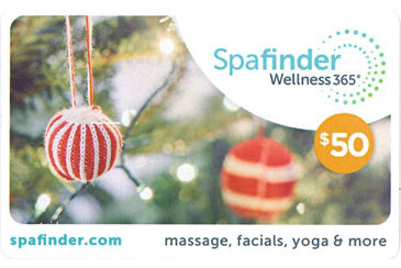 teacher gift, Spa Finder gift card