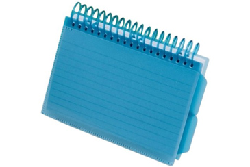 Spiral Bound Index Cards