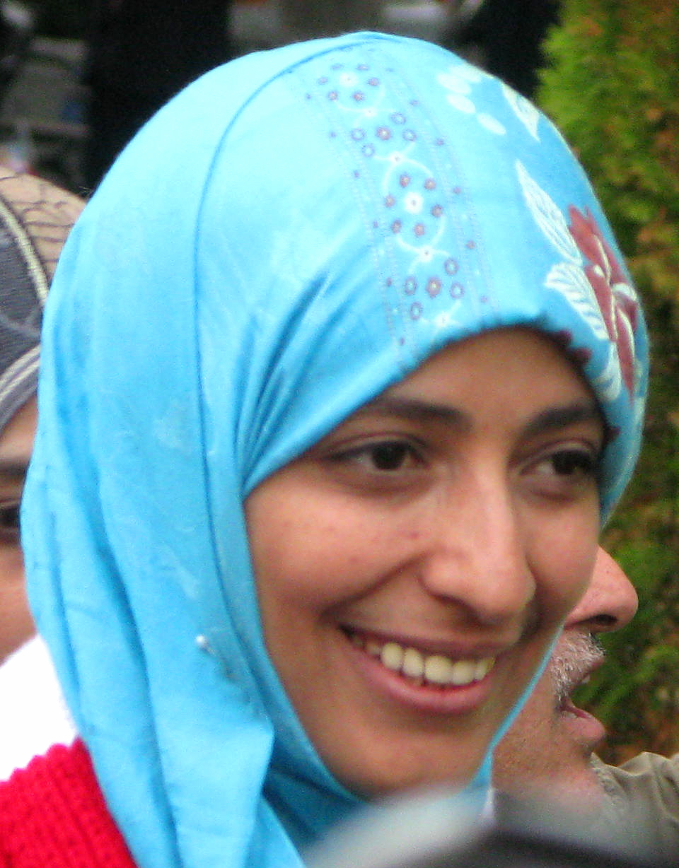 Tawakkul Karman, photo credit: Matthew Russell Lee