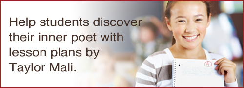 Taylor Mali Poetry Lesson Plans